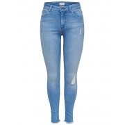 Only Onlblush Mid Sk Ank Raw Bb Rea4347 : - jeans - Size: SL34