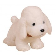 Cute Dog Plush Puppy Animal Toy Stuffed Animals Plush Toy, White