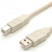 Cable USB A-B p/impresora de 3 metros genérico AB160GEN04