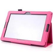 Lenovo A10-70 A7600 Folio Leren Tas - Hot Pink