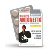 Marco Antonetto Spa Marco Antonetto Digestivo Antonetto Acidità E Reflusso Crema Limone 40 Compresse Masticabili