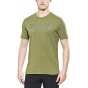 POLER Furry Font t-shirt Heren olijf 2015 Casual shirts