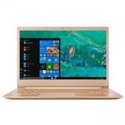 Лаптоп NB Acer Swift 5 SF514-52T-86QV/GOLD/14.0 инча IPS Full HD 1920x1080 Corning Gorill Glass/Intel Core i7-8550U/1x8GB DDRIII/256GB, NX.GU4EX.003