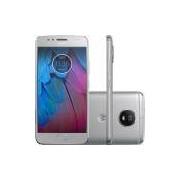 Smartphone Motorola Moto G5s XT1792 Dual Chip, Android 7.1, Tela 5.2'', 32GB, 16MP, 4G – Prata - Moto G5S XT1792 - Prata