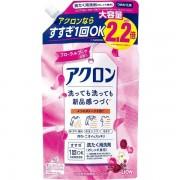 LION «Acron» Средство для стирки деликатных тканей, цветочный аромат, запасной блок, 900 мл.