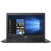 "Лаптоп Acer Aspire Swift 1 SF114-31-P5L5 (NX.SHWEX.026), четириядрен Braswell Intel Pentium N3710 1.60/2.56 GHz, 14"" (35.56 cm) HD LED Display, (HDMI), 4GB, 128GB e-MMC, 1x USB 3.0, Linux, 1.6kg"