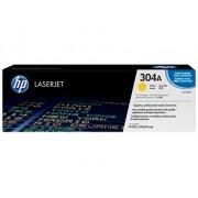 """HP """"Toner HP LaserJet Original 304A Amarelo (CC532A)"""""""