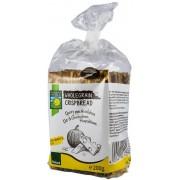 Paine crocanta BIO din cereale integrale cu branzeturi si seminte de dovleac200 grame