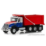 Greenlight 1/64 SD Trucks Series-6 2019 Mack Granite Dump Truck Diecast Model Truck 45060B