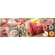Trefl Panoráma puzzle Kitchen Decor: Cukrászda 600 db