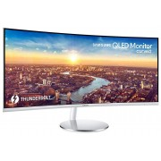 "Samsung C34J791WTU 34"" Wide Screen Thunderbolt 3 Curved Monitor"