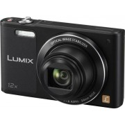 "Aparat Foto Digital Panasonic DMC-SZ10EP-K, 16 MP, 1/2.33"" CCD, Filmare HD, Zoom Optic 12x, Wi-Fi (Negru)"