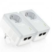 Адаптер Powerline TP-Link AV500 Nano TL-PA4020P Starter Kit, TL-PA4020PKIT_VZ
