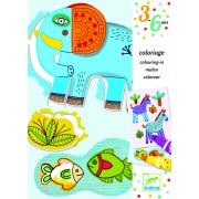 Atelier de desen pentru copii ZooZoo - Set creativitate si indemanare