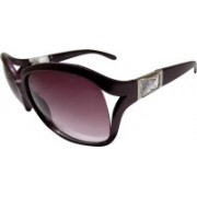 Forty Hands Over-sized Sunglasses(Multicolor)