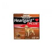 Heartgard Plus Chewables For Large Dog 51-100lbs (Brown) 6 Doses