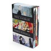 Neil Gaiman/Chris Riddell 3-Book Box Set: Coraline; The Graveyard Book; Fortunately, the Milk, Paperback/Neil Gaiman