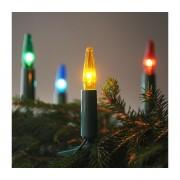 Lanț de crăciun ASTERIA 16xE10/14V/230V colorat