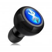 Audífonos Bluetooth Manos Libres Inalámbricos, Mini A Cancelación De Ruido Estéreo Audifonos Bluetooth Manos Libres 4.0 Auriculares Auricular Inalámbrico Con Micrófono (negro)