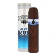 Cuba Silver Blue eau de toilette 100 ml uomo