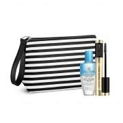 Collistar kit mascara volume unico® nero + struccatore addolcente bi-fase occhi/labbra + pochette fashion