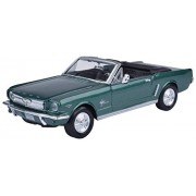 Motormax 1:24 1964 1/2 Ford Mustang (Convertible) (American Classic Diecast Collection) (Metallic Green)