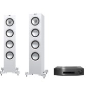 Pachete PROMO STEREO - KEF - Q550 + Cambridge Audio CXA60 Satin Black