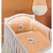 Mamo Tato Luxusní 2 dílný set do postýlky TULITULI pomeranč