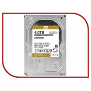 Жесткий диск 4Tb - Western Digital Gold WD4002FYYZ