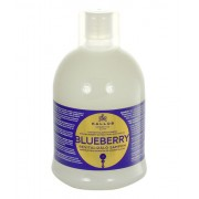 Kallos Blueberry Hair Shampoo 1000Ml Shampoo For Dried And Damaged Hair Per Donna (Cosmetic)