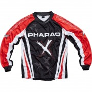 Pharao X Jersey Pharao X Kinder Textil Jersey 1.0 rot XS rot