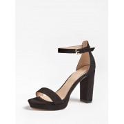 Guess Omere Sandalen Echt Leder - Zwart - Size: 41