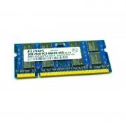 2Go RAM PC Portable SODIMM ELPIDA EBE21UE8AFSA-8G-F DDR2 PC2-6400S 800MHz CL6