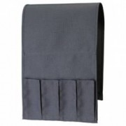 Suport tip buzunar pentru telecomenzi si reviste husa canapea si fotoliu negru FMD159