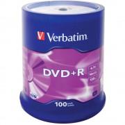 DVD-R Verbatim, 4.7GB, 16x, 100 bucati/set