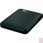 "2.5"" 1TB WD Elements, External HDD, USB3.0, Black (WDBUZG0010BBK)"