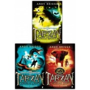 Andy Briggs Tarzan a Legend Reborn 3 Books Collection Set