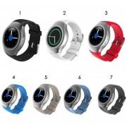Oanda Soft Pulsera De Reemplazo Del Deporte Del Silicón Del Reloj De La Correa De Banda De Moda Para El Samsung Galaxy S2 Engranaje SM-R720 Reloj Smart Watch