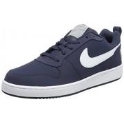 Nike Men's Court Borough Low Thunder Blue/White Casual Shoes (UK-7 (US-8))