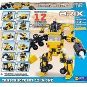 Brix Constructobot 12-in-1 Building Blocks Super Set