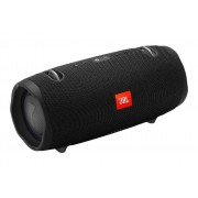 JBL Xtreme 2 Speaker Bluetooth Portatile Waterproof IPX7 con Microfono Porta Usb Connect+ e Bass Radiator Nero