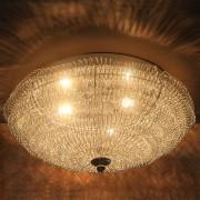 [lux.pro]® Lámpara de techo brillante (3xG9) - Ø 37cm - plata - 3 x G9