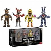 Action Figure Pack 4 Figuras Funko Edición Nightmare - Five Nights at Freddy's