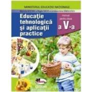 Educatie Tehnologica si aplicatii practice - Clasa 5 + Cd - Manual - Marinela Mocanu