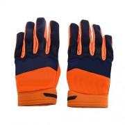 ELECTROPRIME Fox Racing Race Gloves - Motocross ATV Dirt Bike Gear Orange L Size
