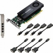 Placa video profesionala PNY Quadro K1200 DVI 4GB DDR5 128Bit Low Profile