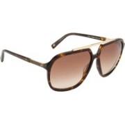 Tommy Hilfiger Aviator Sunglasses(Brown)
