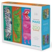 Construieşte o Grădină Zoologică - Puzzle de Cuburi
