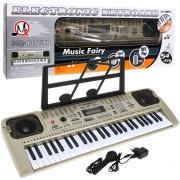 Orga electronica cu 54 clape MQ-807USB si boxe, microfon,Usb Stick Mp3 Player
