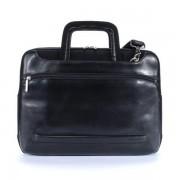 """TUCANO BOPWO :: Чанта за 15.4"""" лаптоп, Opera Work_out, кожена, черен цвят"""